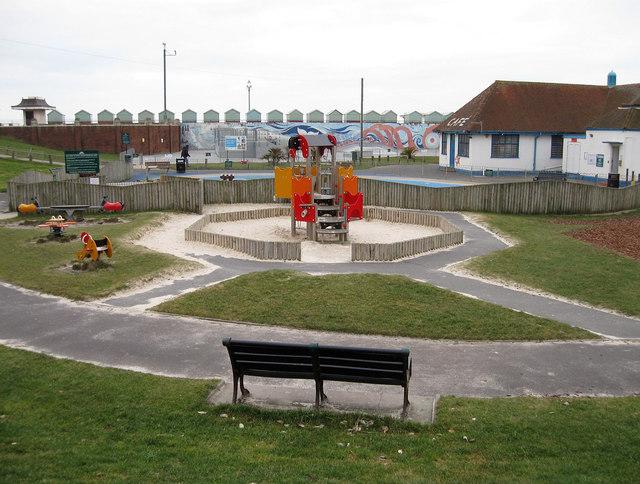 Children's Play Area, Hove Lagoon
