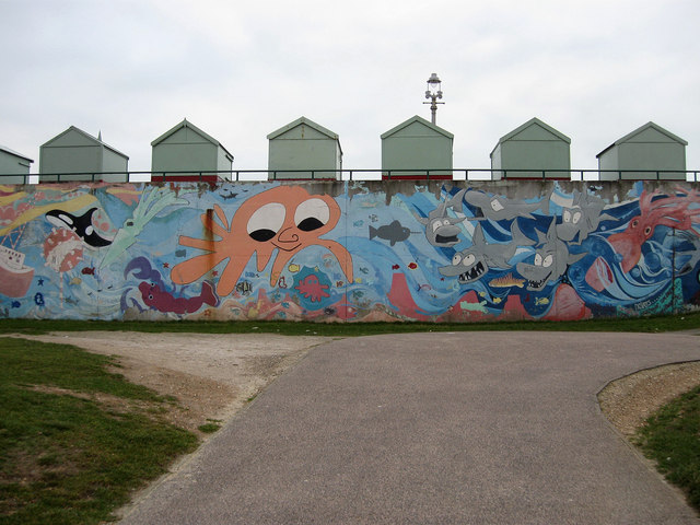 Mural, Hove Lagoon
