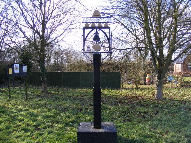 Brampton Village Sign & Notice Board