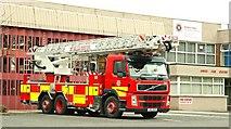J3774 : Fire appliance, Belfast (2) by Albert Bridge