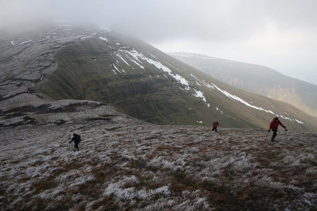 Corrie on North side of the Galtee range