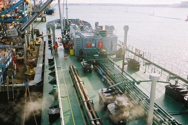 RATHROWAN at Fawley Marine Terminal