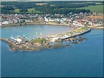 NT4999 : Elie Harbour by James Allan