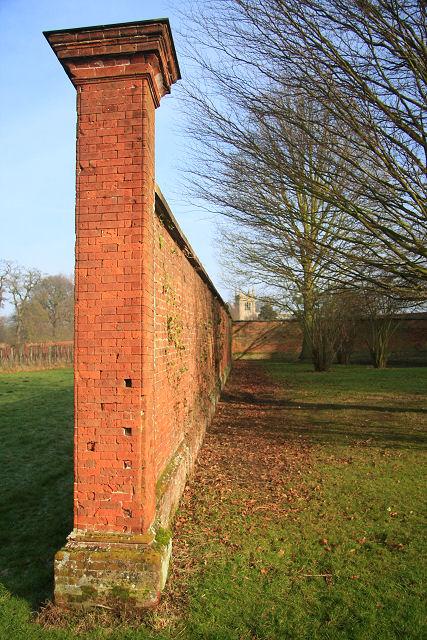 Kitchen garden wall, Ickworth Park