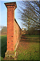 TL8160 : Kitchen garden wall, Ickworth Park by Bob Jones