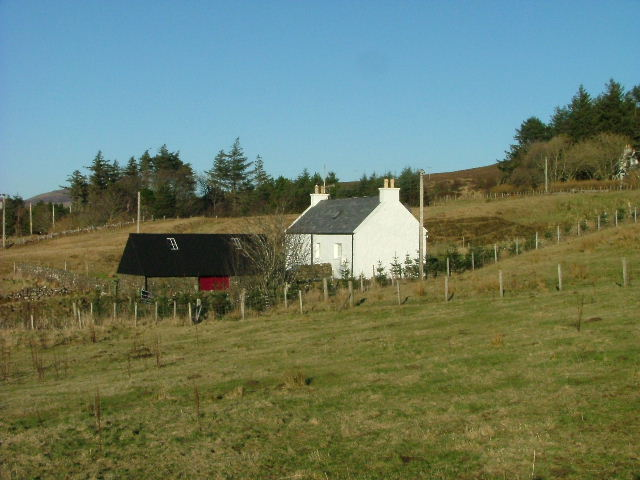 Croft house in Earlish