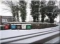 SU6352 : Rubbish bins for The Way Inn by Sandy B