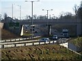 TQ6858 : A20 Roadbridge over A228 West Malling By-pass by David Anstiss