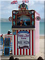 SY6879 : 'Punch & Judy' Show, Weymouth Beach. by Colin Park
