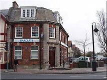 SX9265 : Barclays Bank, St Marychurch by David Hawgood