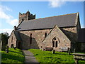 NT9130 : The church at Kirknewton by Colin Park