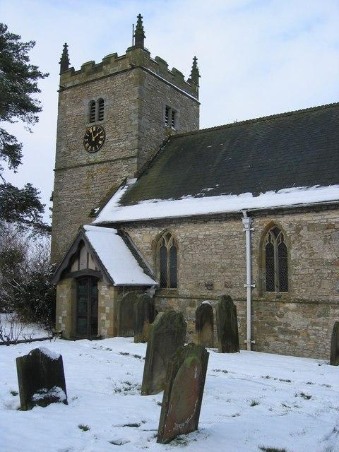 All Saints and St James' Church, Nunnington
