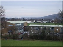 ST1477 : Cantonian High School, Cardiff by John Lord