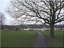 ST1477 : Fairwater Park, Cardiff, looking towards Elfed Gardens by John Lord