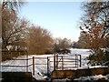 SE2707 : The Kissing Gate Bark House Lane by John Fielding