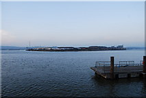 TQ7568 : Looking North across the River Medway from Sun Pier, Chatham by N Chadwick