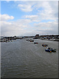 TQ2104 : River Adur by Simon Carey