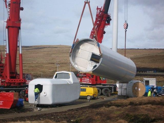 Turbine Tower No 8 Under Construction