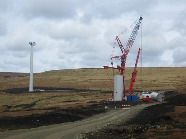 Turbine Tower No 8 Under Construction