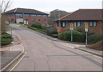 SX9591 : Pynes Hill Business Park by Derek Harper