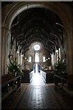 SK8572 : St.Helen's church interior by Richard Croft