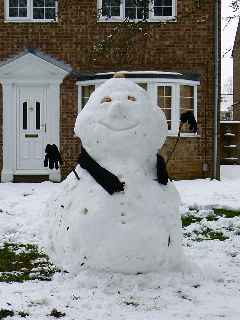 Snowman, Wick Lane, Liden, Swindon