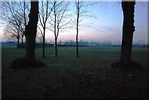 TQ7668 : Brompton Rd Sports Ground, Gillingham by N Chadwick