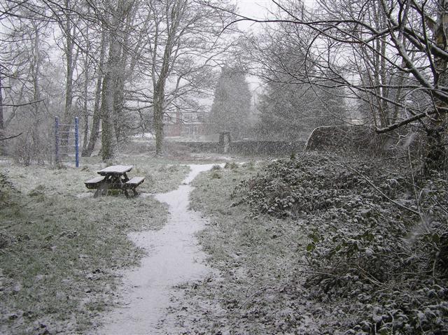 Snowing, Cranny