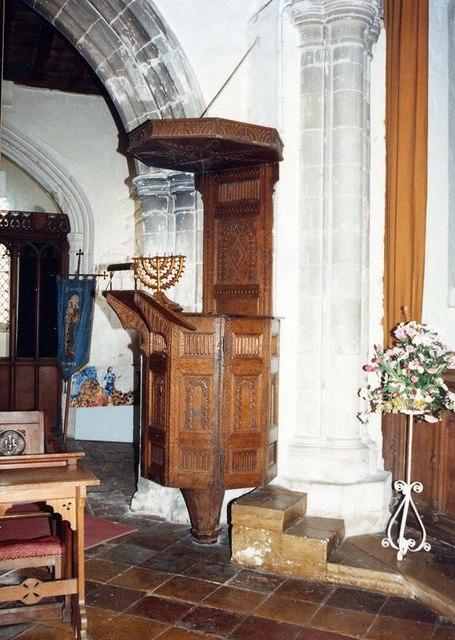 All Saints, Barrington - Pulpit
