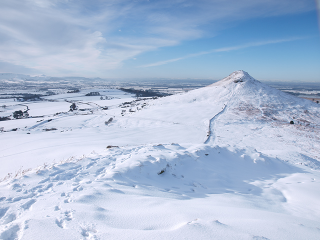 View from the summit of Little Roseberry