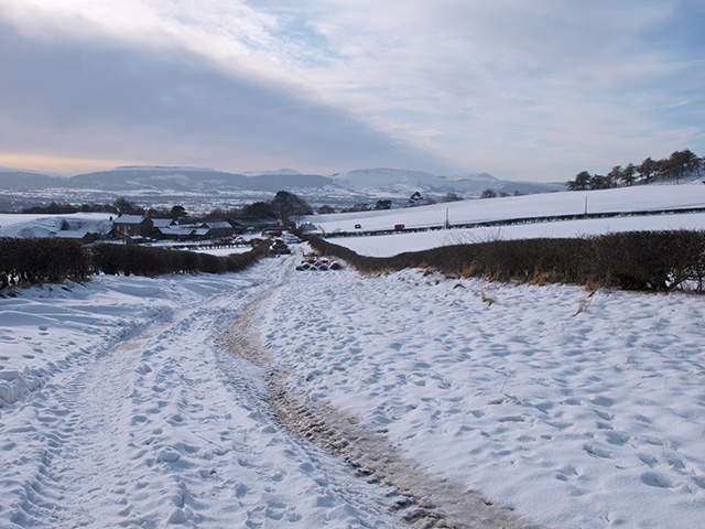 Bridleway to Aireyholme Farm