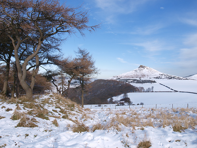 Roseberry Topping from Cliff Ridge