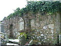 NS0332 : The Ruined Chapel of St Bridget in the Cemetery at Lamlash by Dave Napier