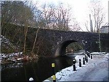 SD9827 : Canal Bridge, Hebble End by SMJ