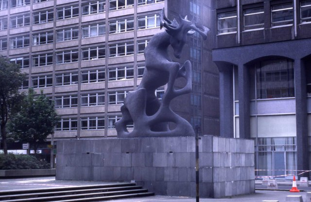 Stag Statue in Stag Place