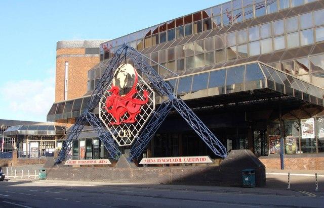 Cardiff International Arena - entrance
