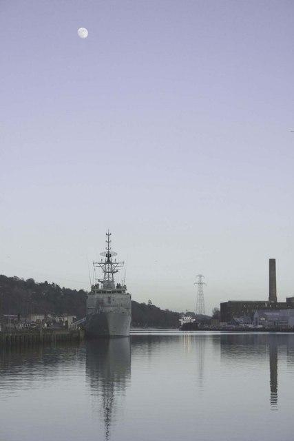 L.E Eithne docked at Horgans Quay Cork