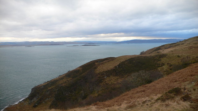 Looking east to Kintyre across the Sound of Jura