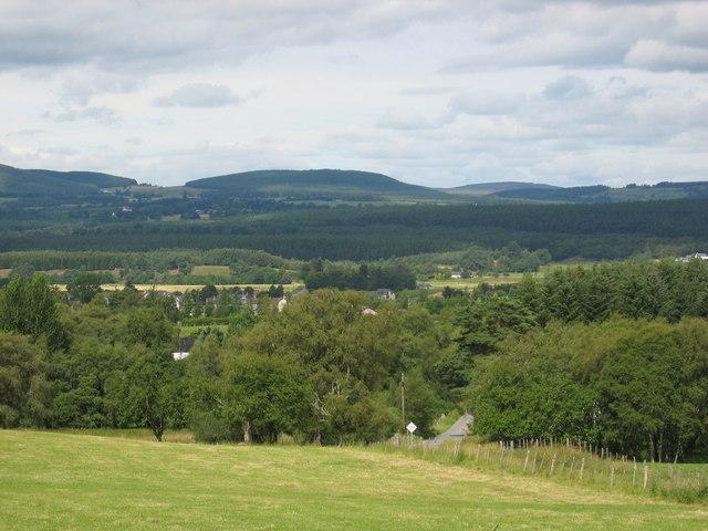 Towards Cromdale Village