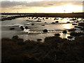 TA1725 : Paull Tidal Lagoon at Dusk by Andy Beecroft