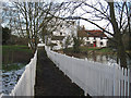 TL9133 : Bures mill from the footpath by Zorba the Geek