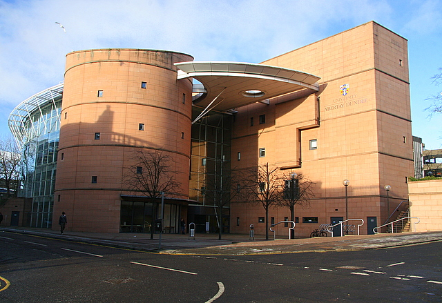 Library, University of Abertay, Dundee