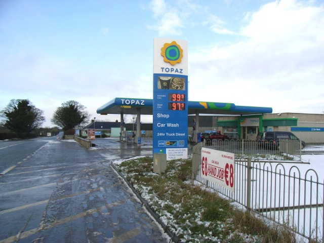 Petrol Station at Coolfore, north of Ashbourne, Co. Meath