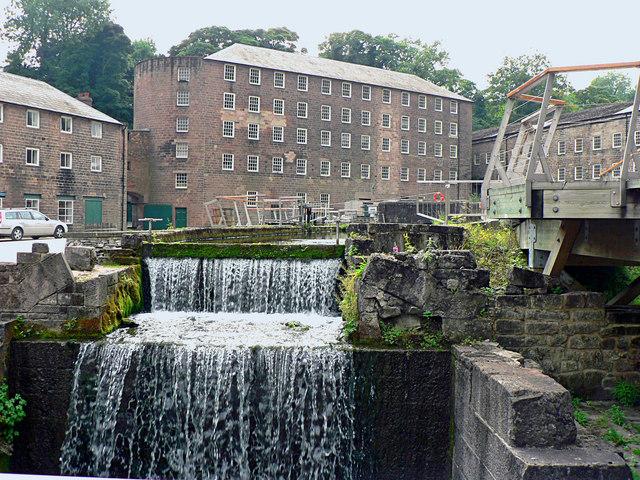 Richard Arkwright's Cromford Mill at Derwent Valley Mills