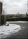 SU9849 : View of Guildford Cathedral from  Mountside by Basher Eyre