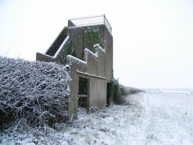 Observation tower at Ardmulchan, near Navan, Co. Meath