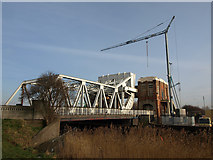 TA0832 : Sutton Road Bridge under repair by Andy Beecroft