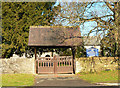 ST0974 : Lych gate, The Parish Church of St Nicholas in the Vale of Glamorgan by Mick Lobb