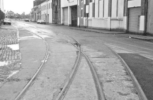 Old harbour railway, Belfast