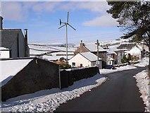 NY7441 : Wind turbine in Garrigill by Oliver Dixon